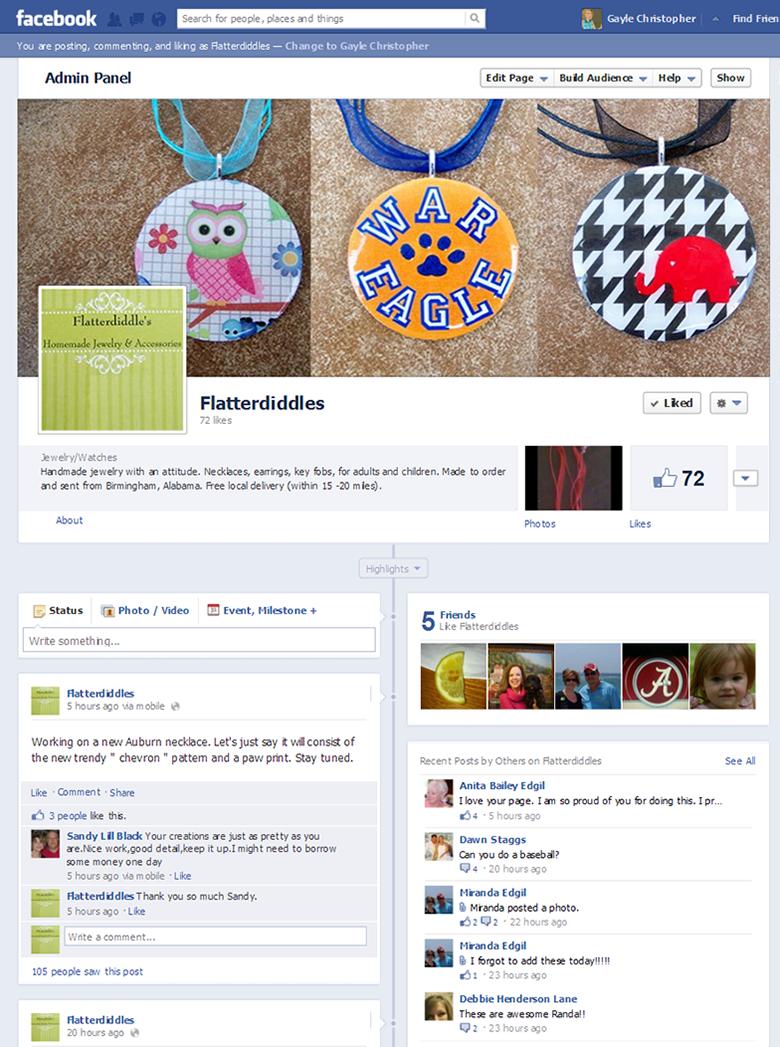 Flatterdiddles - Facebook
