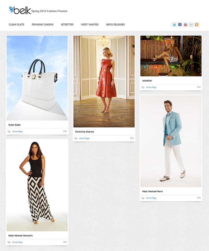 Belk 2014 Spring Fashions