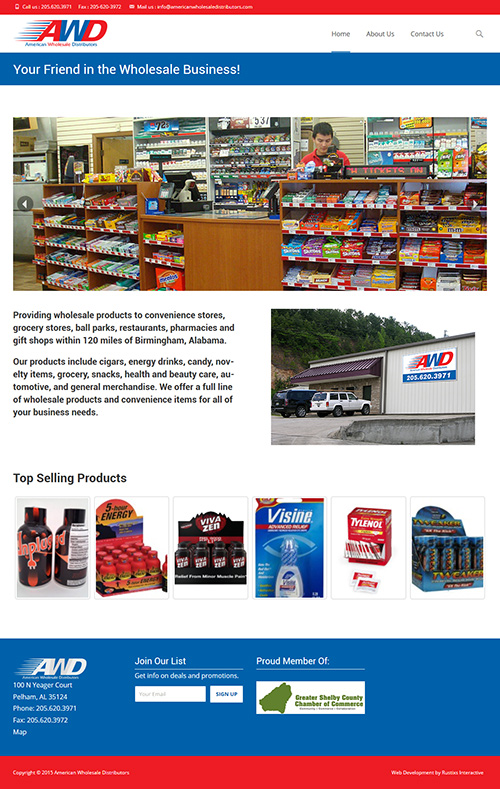 American Wholesale Distributors